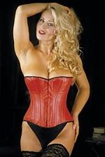 Hourglass Leather Corset