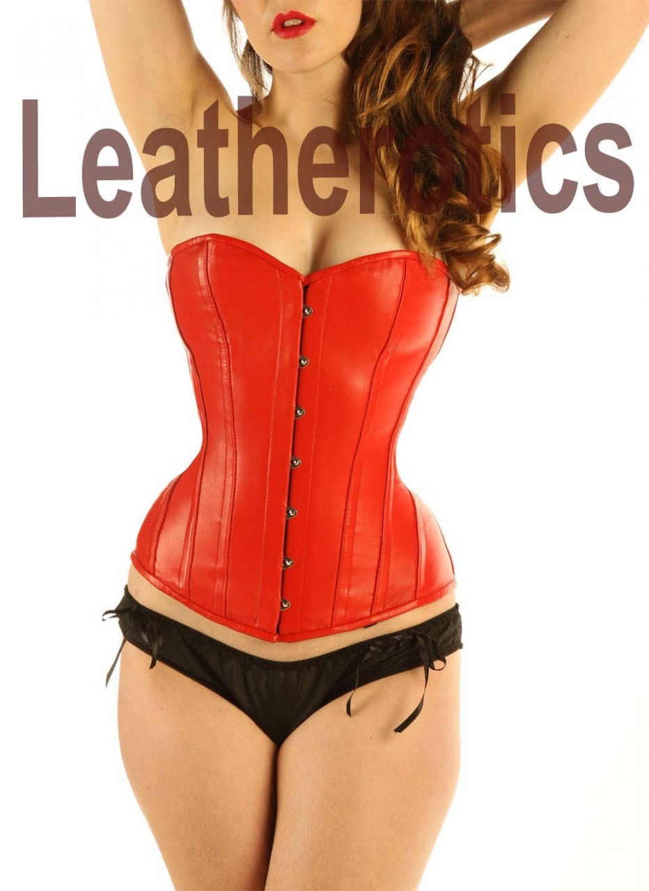Tightlacing Leather Overbust Corset