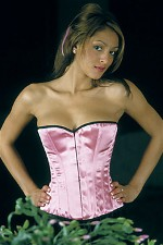 Smooth Satin Overbust Corset