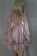 Satin Slip and matching negligee