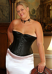 Elegant Leather Corset
